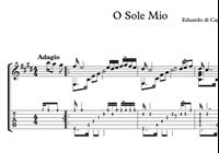 Bild von O Sole Mio Sheet Music & Tabs