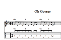 Изображение Oh George Sheet Music & Tabs
