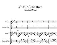 Hình ảnh của Out In The Rain Sheet Music & Tabs