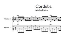 Изображение Cordoba Sheet Music & Tabs