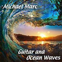 Bild von Gitarre und Meereswellen (flac)