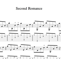 Imagen de Second Romance Sheet Music & Tabs