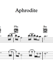 Aphrodite - Sheet Music & Tabs の画像