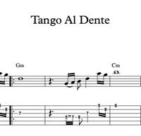 Imagen de Tango Al Dente - Sheet Music & Tabs