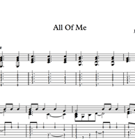 Image de All Of Me - Sheet Music & Tabs